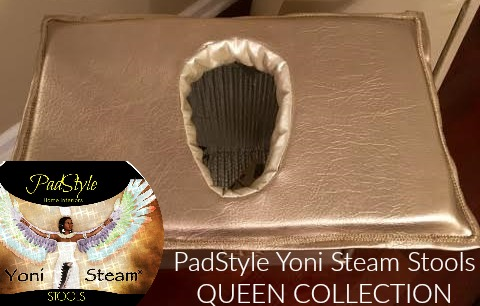 QUEEN COLLECTION PadStyle Yoni Steam Throne