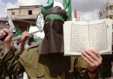 Jihadist quoting the Quran.