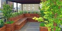 Roof Garden Ideas  yonohomedesign.com