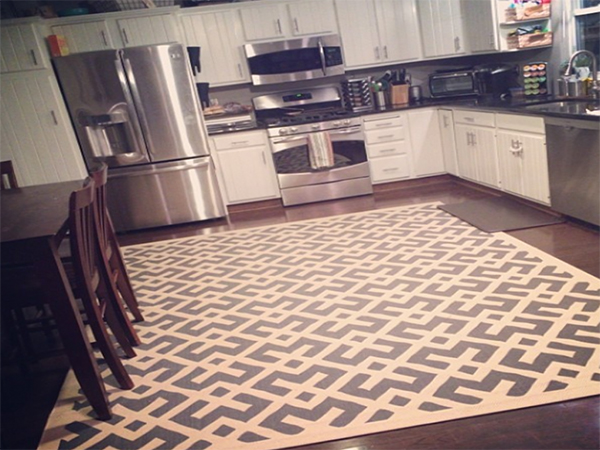 large kitchen rug diamond sink rugs styles of for yonohomedesign com