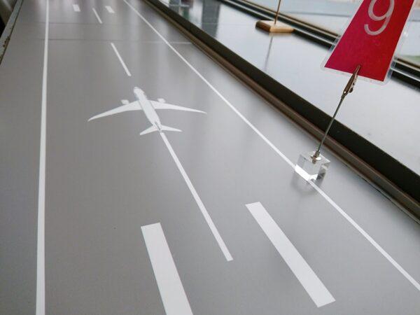 コンコルド滑走路テーブル