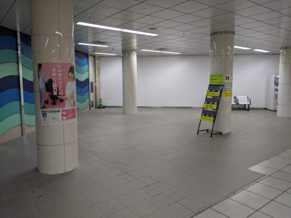 福岡空港駅国際線ターミナル側改札2