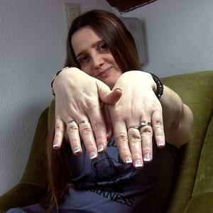 Hab mir die Nägel machen lassen :)