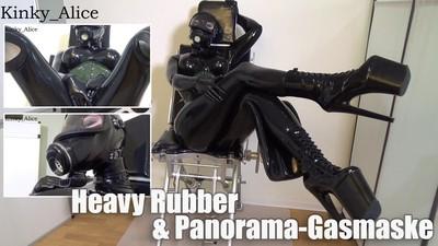 Heavy Rubber und Panorama-Gasmaske