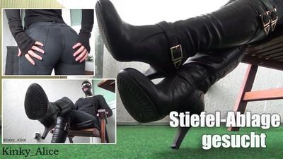 Stiefel-Ablage gesucht