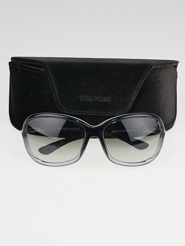 Tom Ford Grey Frame Gradient Tint Jennifer Sunglasses-tf8