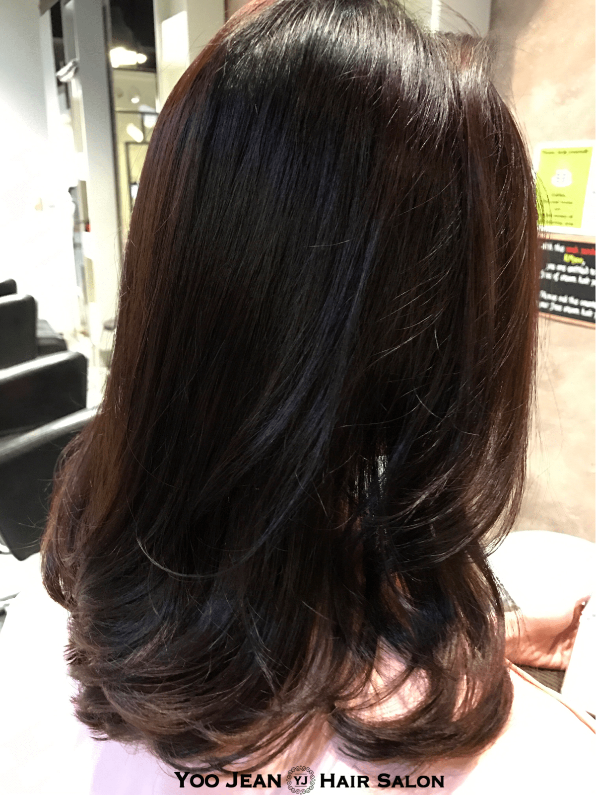 Medium Perm Style Yoo Jeans Hair Salon Korean Hair