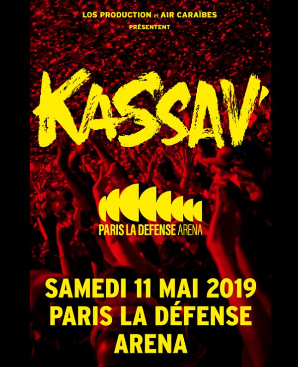 KASSAV 11 mai 2019 Paris la Defense Arena