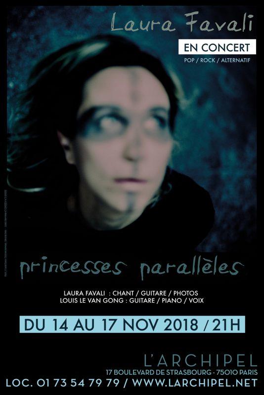 Laura Favali Princesses parallèles au theatre de l'archipel Paris