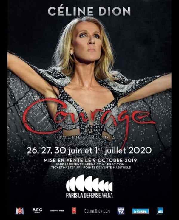 Céline Dion Courage