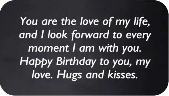 Birthday Wishes For Partner In English