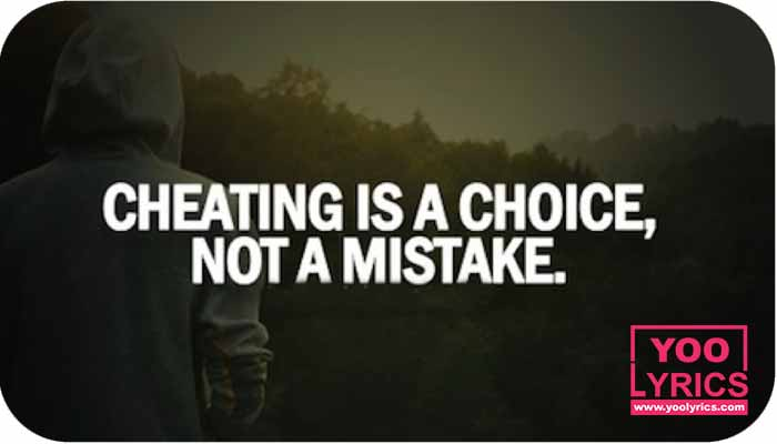 Quotes about not cheating in a relationship