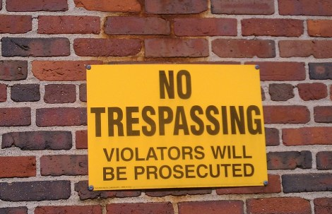 Trespassing & Property Damage
