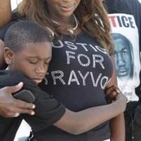 Trayvon Martin T-shirts: American outrage, size XXL
