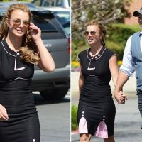 PDA alert: Britney Spears and her new boyfriend hold hands in public for the first time