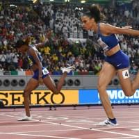 Muhammad world record as Barshim soars for Qatar gold