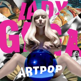 "Lady Gaga's album cover for ""ArtPop"""