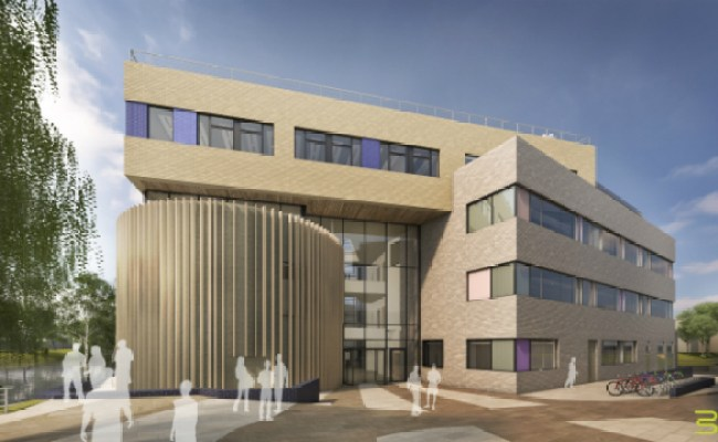 New Environment Building Construction Works Start