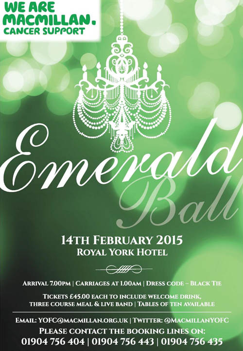 York 360 Emerald Ball 2015