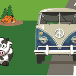 Logo for Dubs in't Dales - VW festival in the Yorkshire Dales