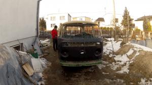 Rusty VW camper
