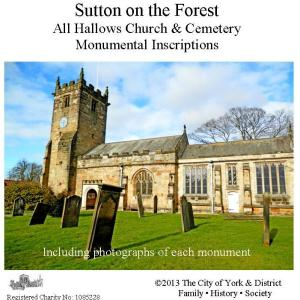 Sutton on the Forest MIs CD