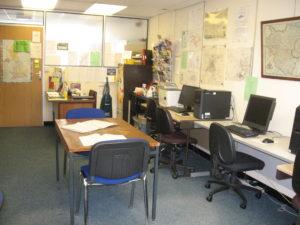 Computers and desks