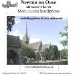 Newton on Ouse Monumental Inscriptions
