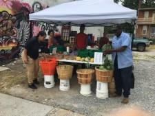 Tuesday at Lees Market