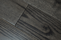 dark stained chinese ash hardwood flooring, black color