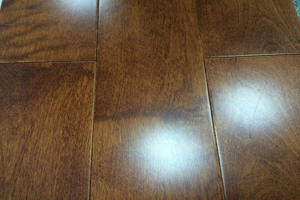semigloss dark maple prefinished hardwood flooring