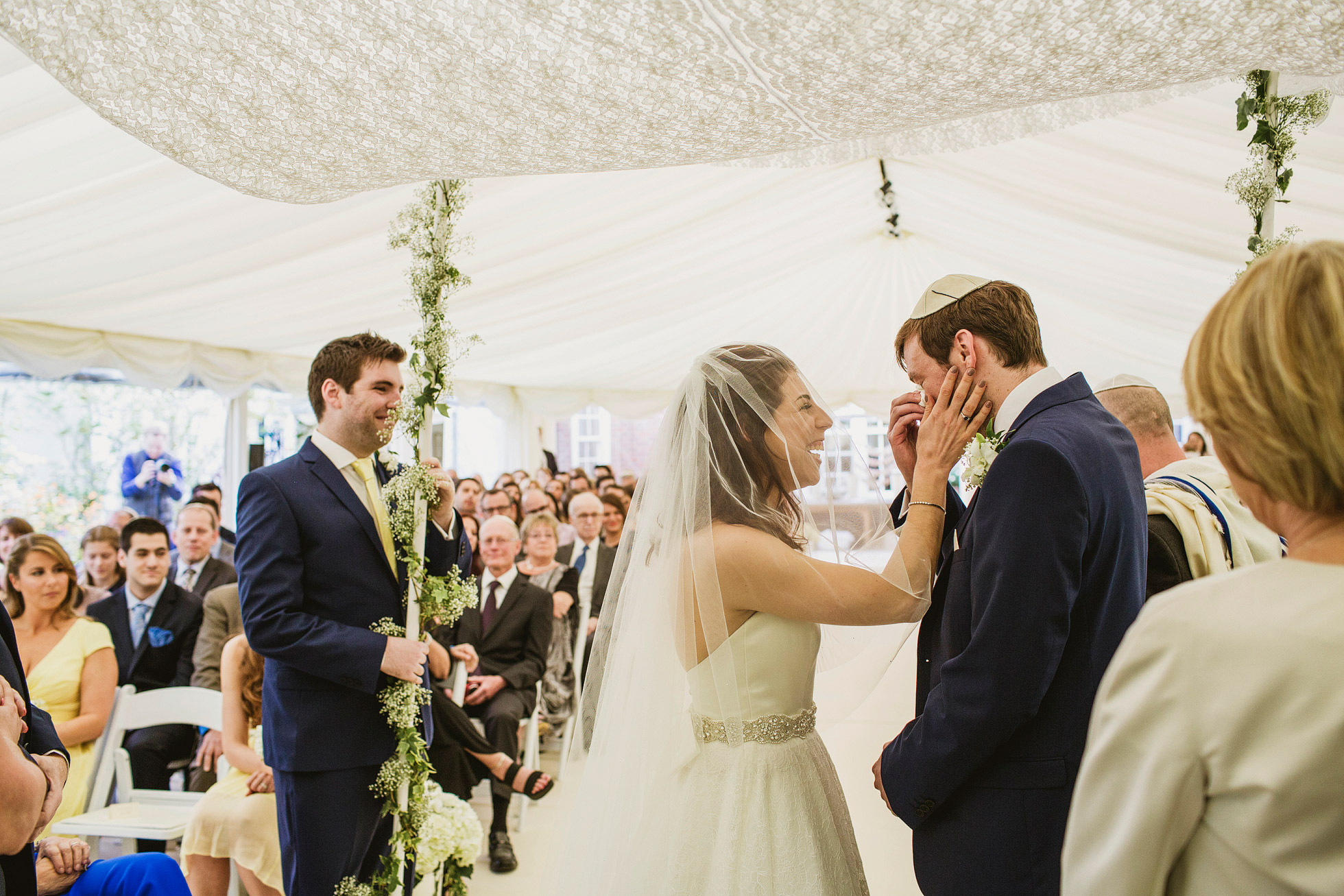 Jewish Wedding Photography and Filming London