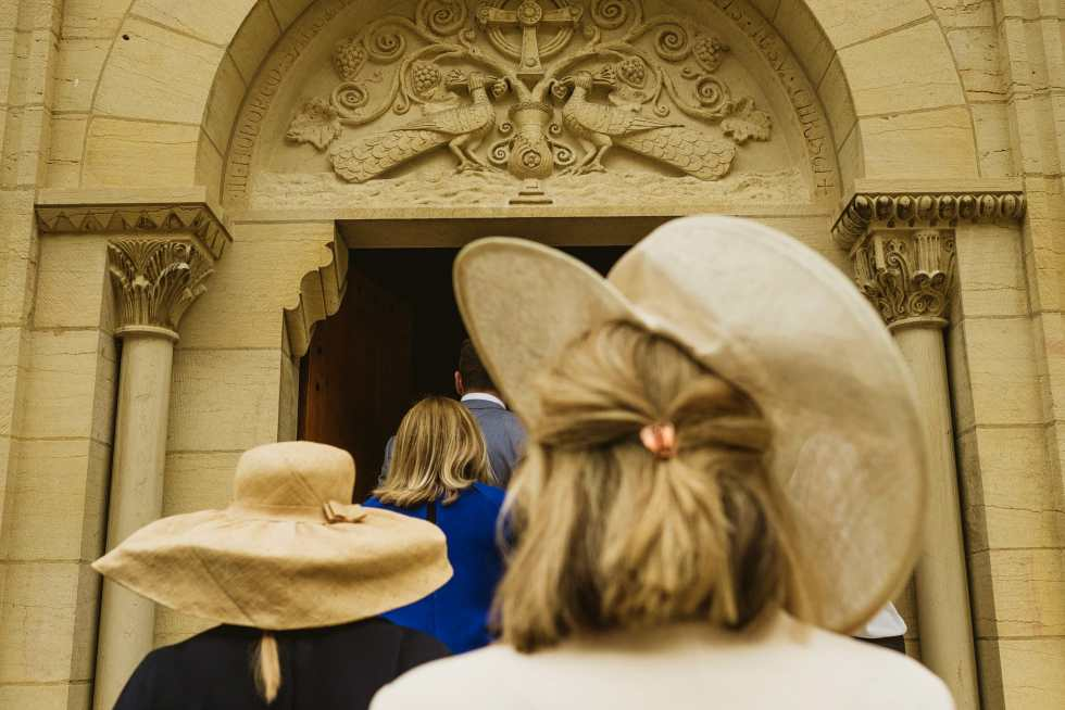 chateau de varenne wedding ceremony