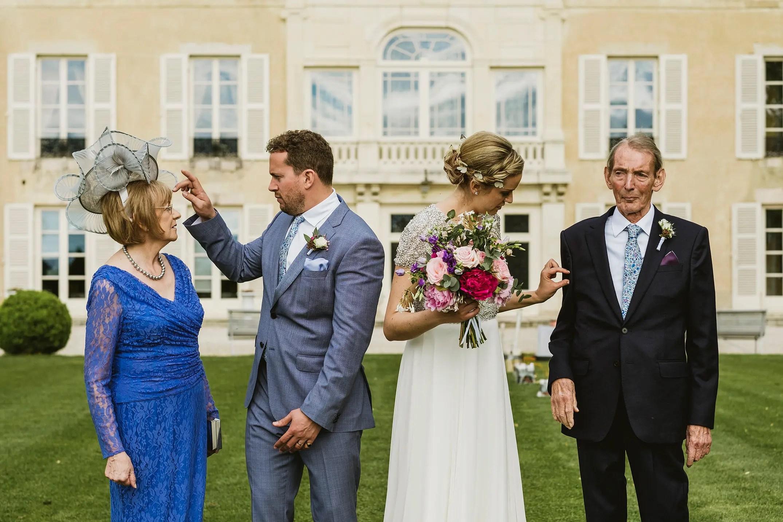 London Documentary Wedding Photographers - unposed group photograph