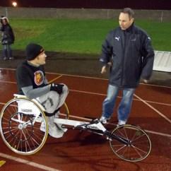 Wheelchair Olympics La Z Boy Swivel Chair Athlete Tiaan Bosch Needs Help To Reach 2016 In Sportsman Brazil