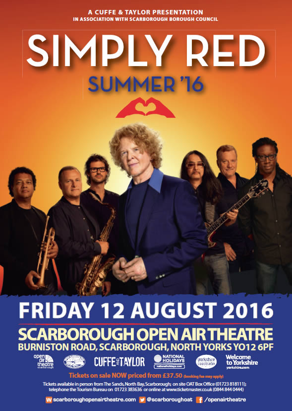 simply red live at