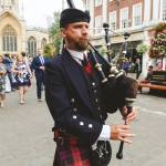 York Bagpiper Hire
