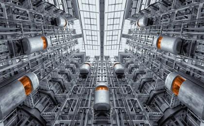 Picture of elevators