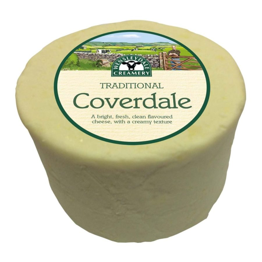 1kg Coverdale Cheese from Wensleydale Creamery. Courtesy of Wensleydale Creamery