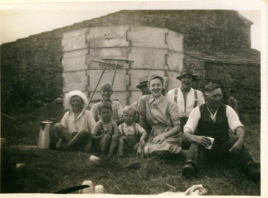 Wartime silo at Browna Paddocks, Abbotside. Collection Ann Holubecki