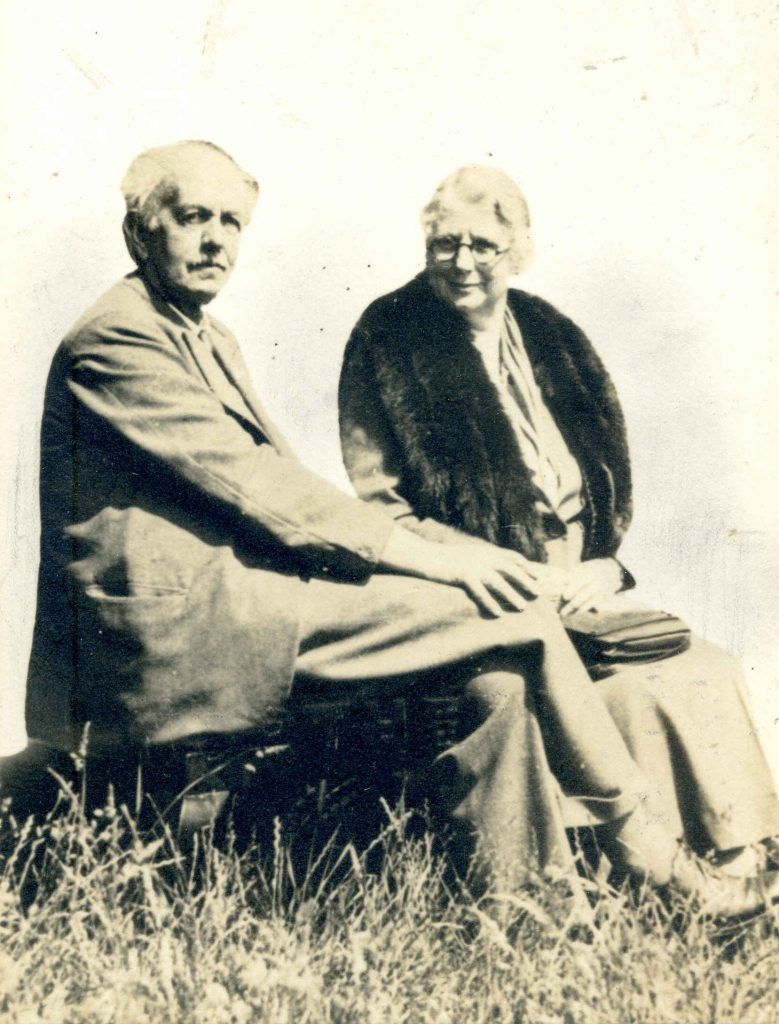 Alfred and Margeurite Rowntree, unknown date. Courtesy of Charles Rowntree and family