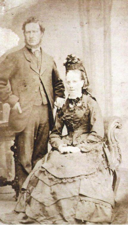 Chris and Mary Ewbank late 19th century. Courtesy of Robert Mason