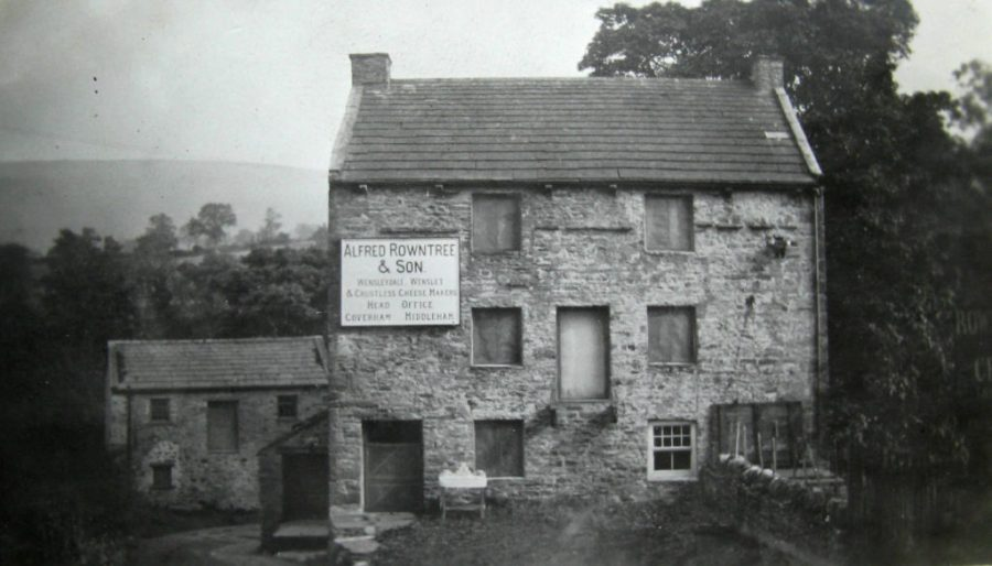 Coverham Dairy. Unknown date. Courtesy of Charles Rowntree.