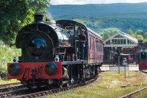 Train in Kirkby Stephen