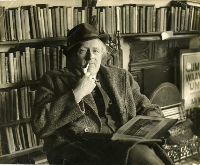 Kit Calvert in his later years. Dales Countryside Museum collection