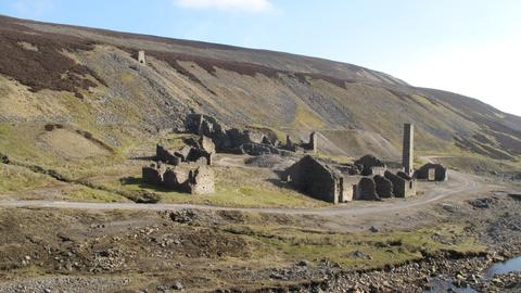 Old Gang Mines in the Yorkshire Dales