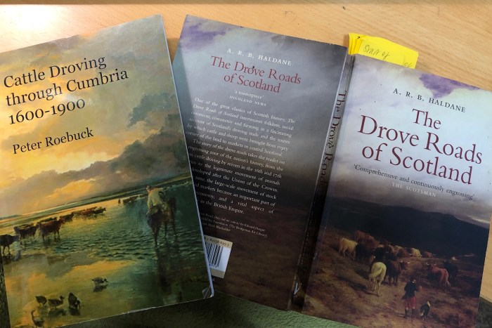 Books on droving