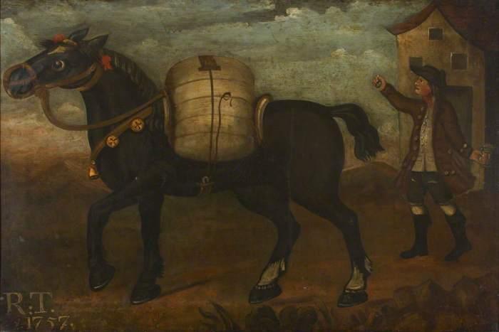 Tebay, Robert (1757) 'The Belle Mare' Kendal Museum http://www.artuk.org/artworks/the-belle-mare-143520