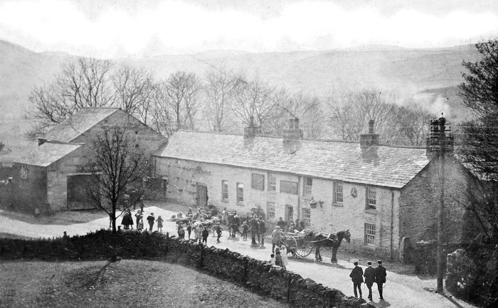 Cross Keys Inn as Thomas Hunter might have known it, unknown date. Courtesy of Heather Ballantyne