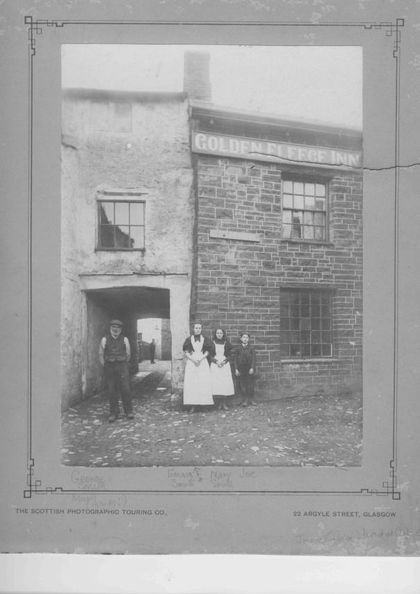 The Golden Fleece Inn, Kirkby Stephen, unknown date. Courtesy of Ann Sandell